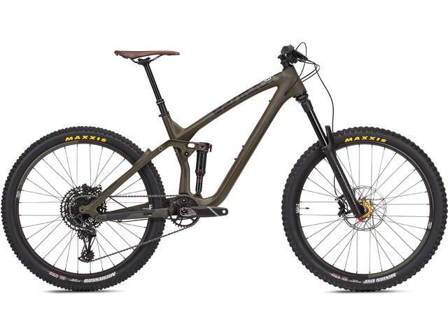"NS Bikes Snabb 160 Carbon MTB Full Suspension 27,5"" olive"